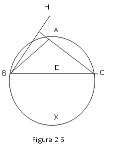 Solved: Geometry. 2.A.4 In Figure 2.6 , Altitude AD Of ?AB