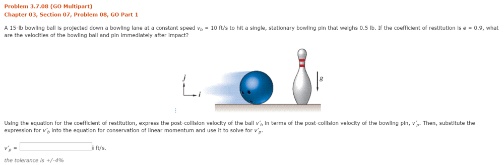 medium resolution of question part 2 using the results from part 1 find the post collision veloci