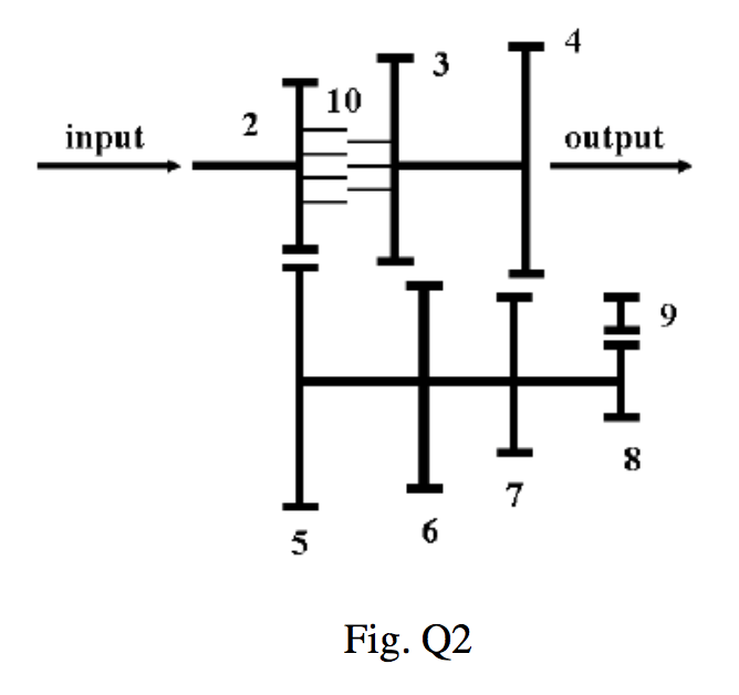 Solved: 02. [10 MarksJ Figure Q2 Shows The Schematic Drawi