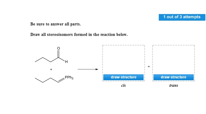 Solved: Draw All Stereoisomers Formed In The Reaction