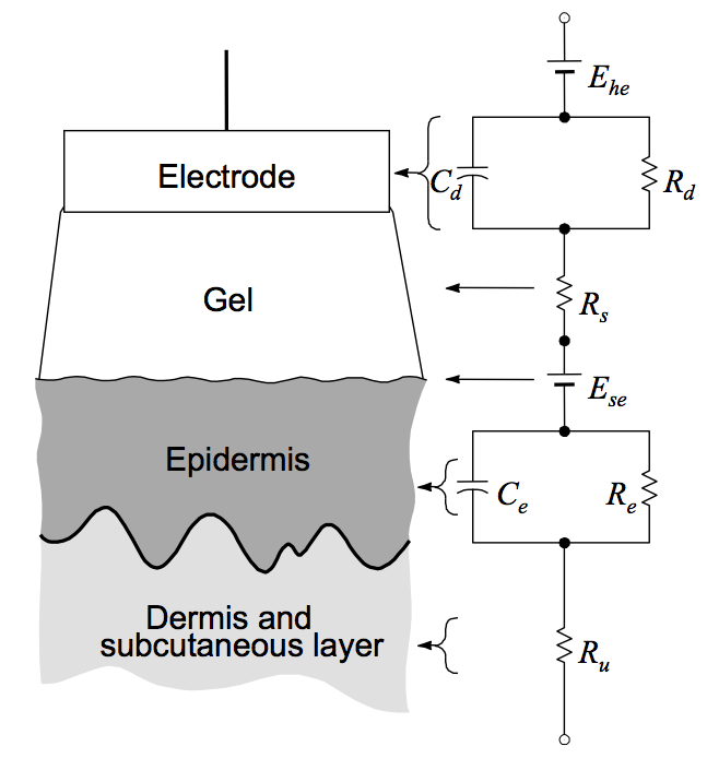 Solved: %]. Consider The Electrical Model Of An Electrode