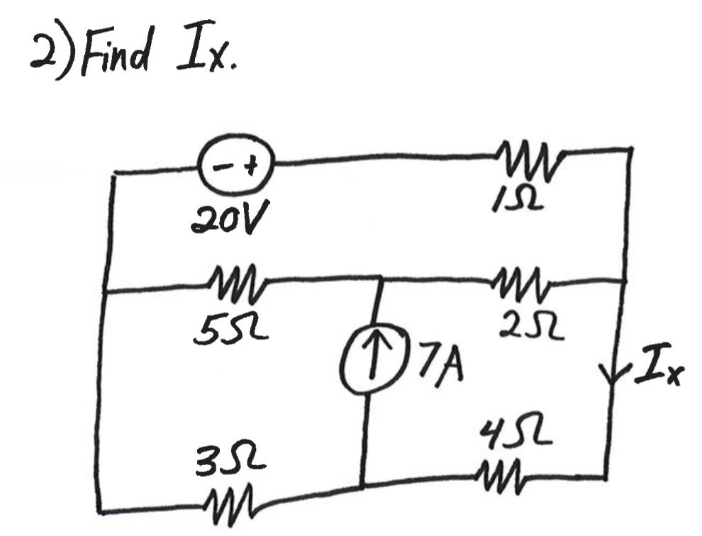 Solved: 2)Find Tx ISL 2oV 53-07A-wh 25Z YSL 3S2一ーーーー