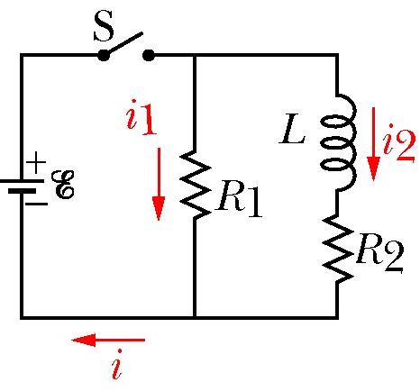 Solved: In The Diagram Is Shown An RL Circuit With A Switc