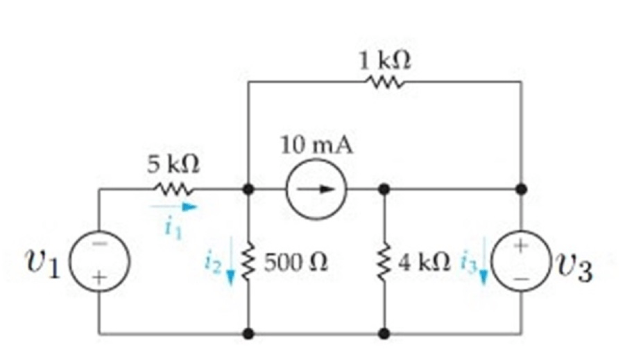 Solved: Use Mesh-current Method To Find Branch Currents I1