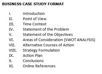 Solved: Please Help Me Draft A Business Case Study As Per