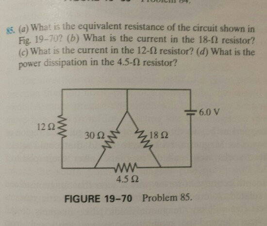 What Is The Equivalent Resistance Of The Circuit