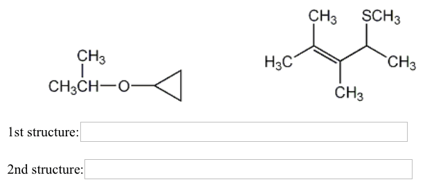 Solved: Give IUPAC Names For The Following Structures. Whe