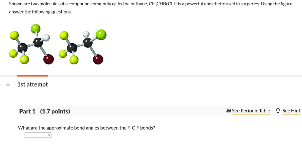 Solved: Shown Are Two Molecules Of A Compound Commonly Cal