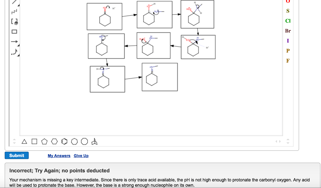 Solved: Draw A Reasonable Mechanism For This Reaction In T