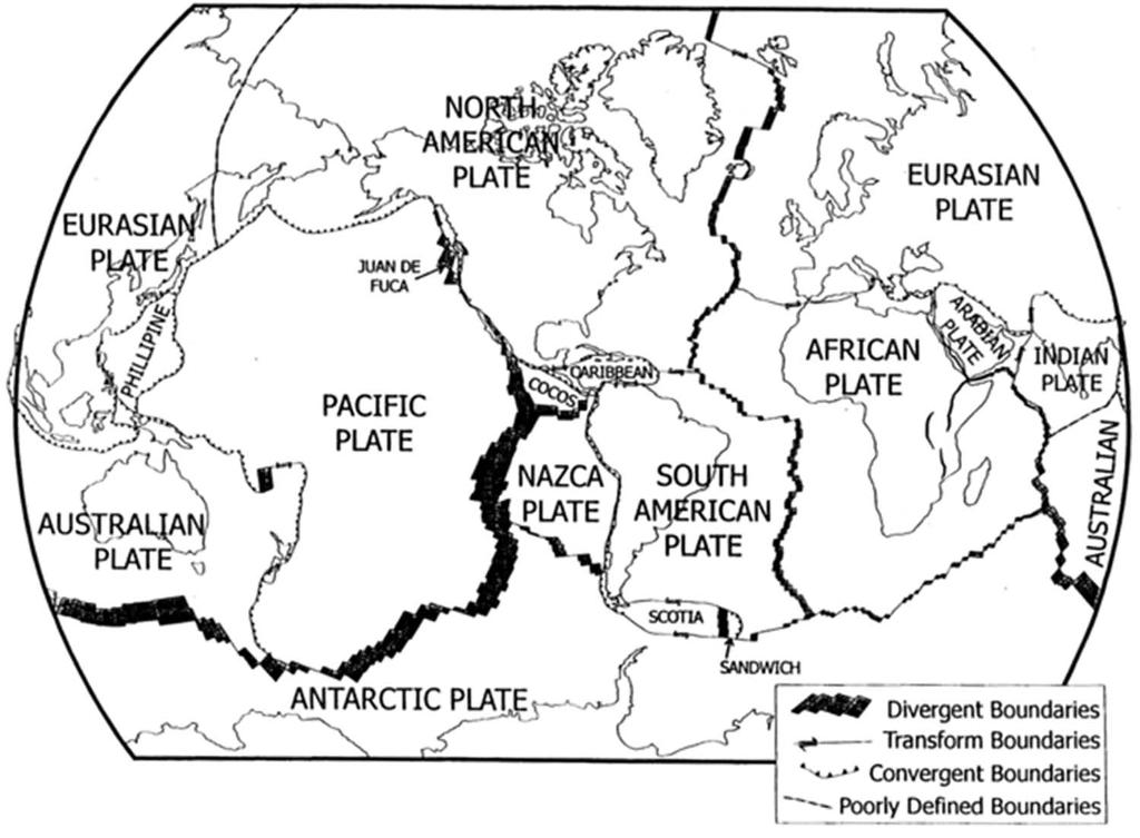 Boundaries Worksheet Map Of The World With Boundaries