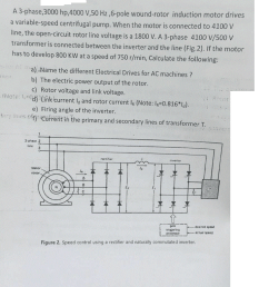 ac wound rotor motor wiring diagram free picture trusted wiring induction motor diagram solved a 3 [ 960 x 1280 Pixel ]