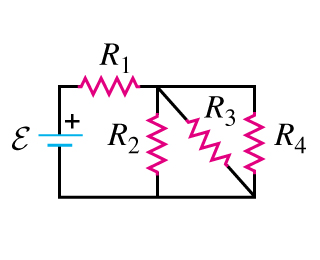 Solved: In The Circuit Each Resistor Represent A Light Bul