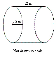 Solved: Find The Volume Of The Cylinder In Terms Of Pi