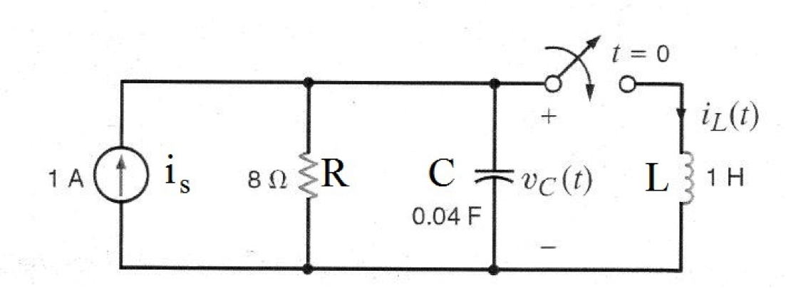 Solved: Find The Differential Equation For The Circuit Sho