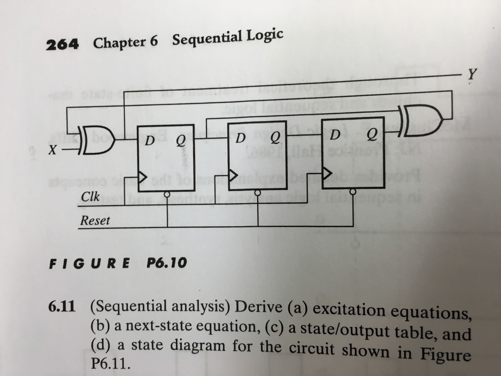 hight resolution of 1 conduct the analysis of the sequential circuit chegg com figure 10 logic schematic of a sequential circuit