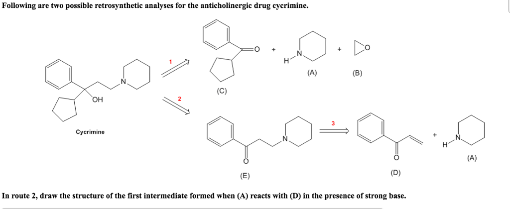 Solved: 1. Draw The Structure Formed When A Reacts With D