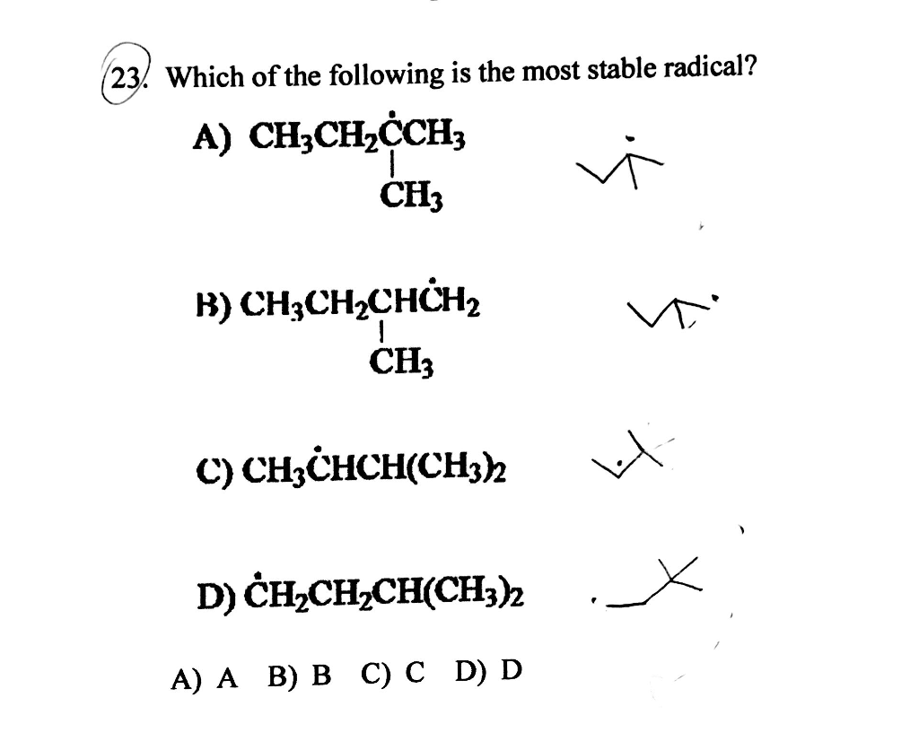Solved: O-Chem HW4 Q23 Can Anyone Explain How To Figure Th