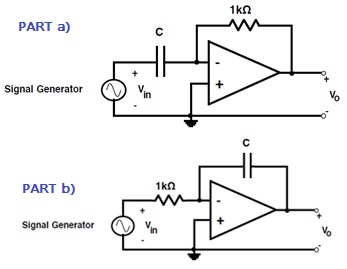 A) Analyze The Op Amp Differentiator Circuit (C