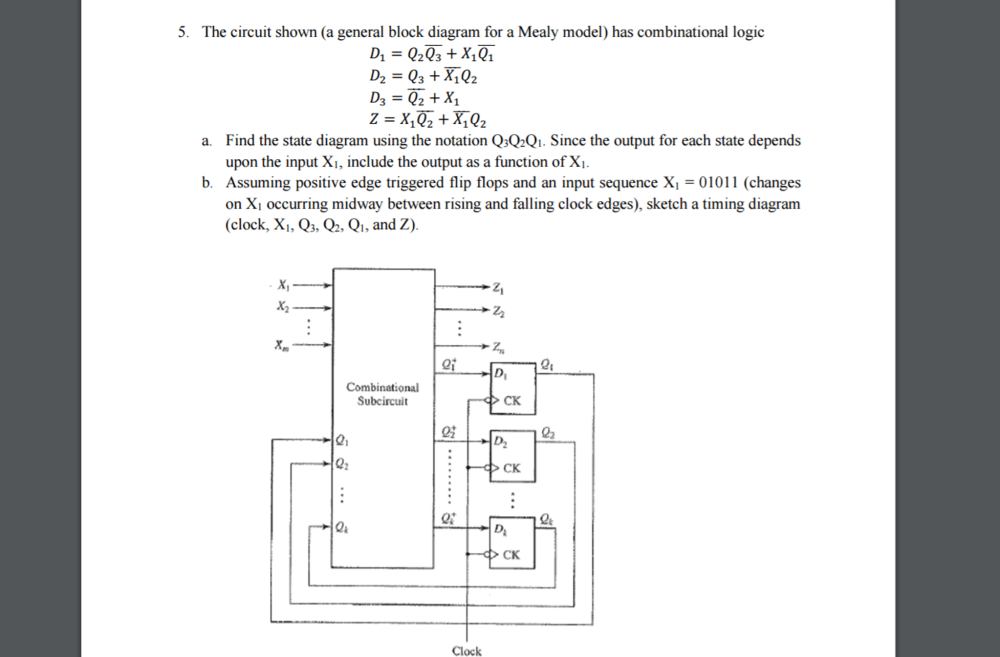 medium resolution of the circuit shown a general block diagram for a m