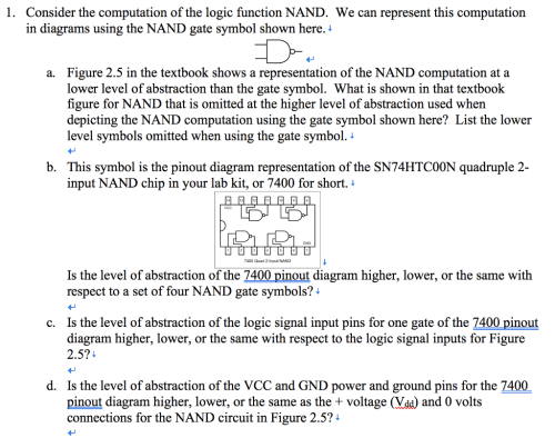 small resolution of consider the computation of the logic function nand we can represent this computation