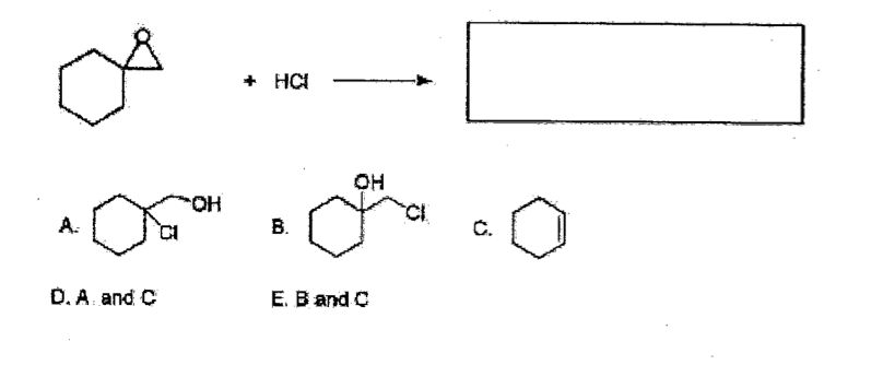 Solved: Determine The Product Or Products In The Reaction