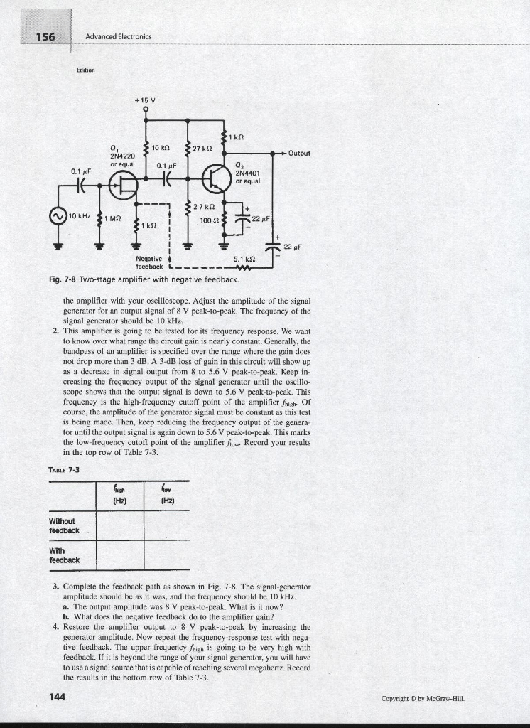 Experiments Manual To Accompany Electronics Princi