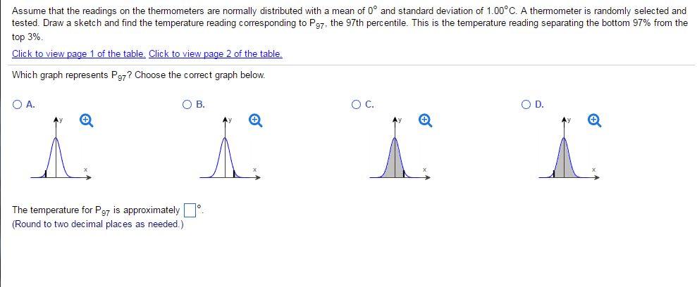 Solved: TABLE 1 Negative Z Scores Standard Normal (z) Dist