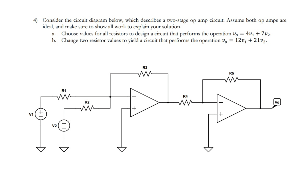 medium resolution of solved consider the circuit diagram below which describeconsider the circuit diagram below which describe
