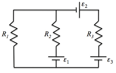 Solved: In The Circuit Below, 1 = 11 V, 2 = 6 V, And 3 = 6