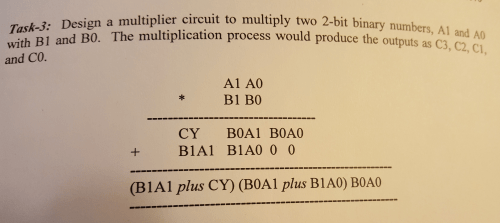 small resolution of with b1 and bo the multiplica and co task 3 design a