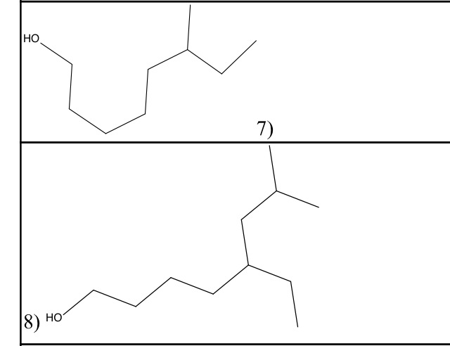 Solved: PLEASE HELP ME TO GIVE THE IUPAC NAME FOR THESE ST
