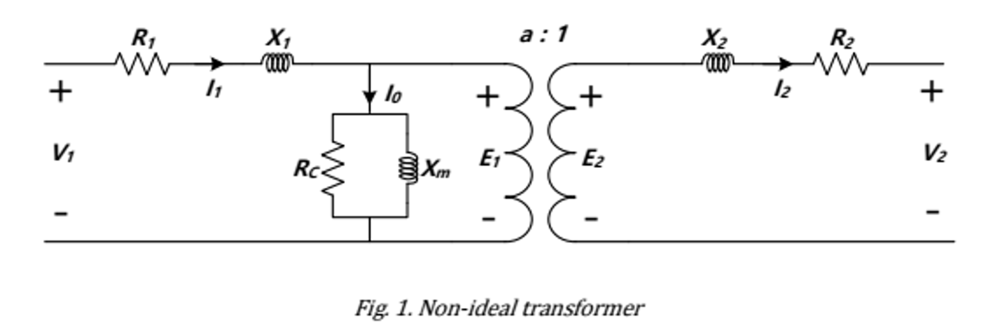 hight resolution of non ideal transformer
