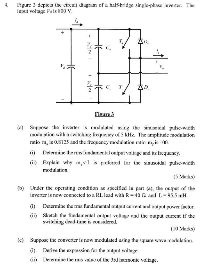 medium resolution of figure 3 depicts the circuit diagram of a half bri