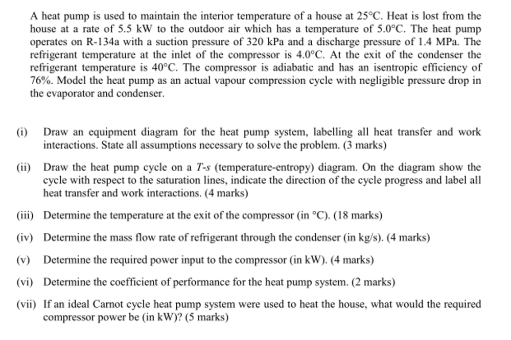 medium resolution of a heat pump is used to maintain the interior tempe