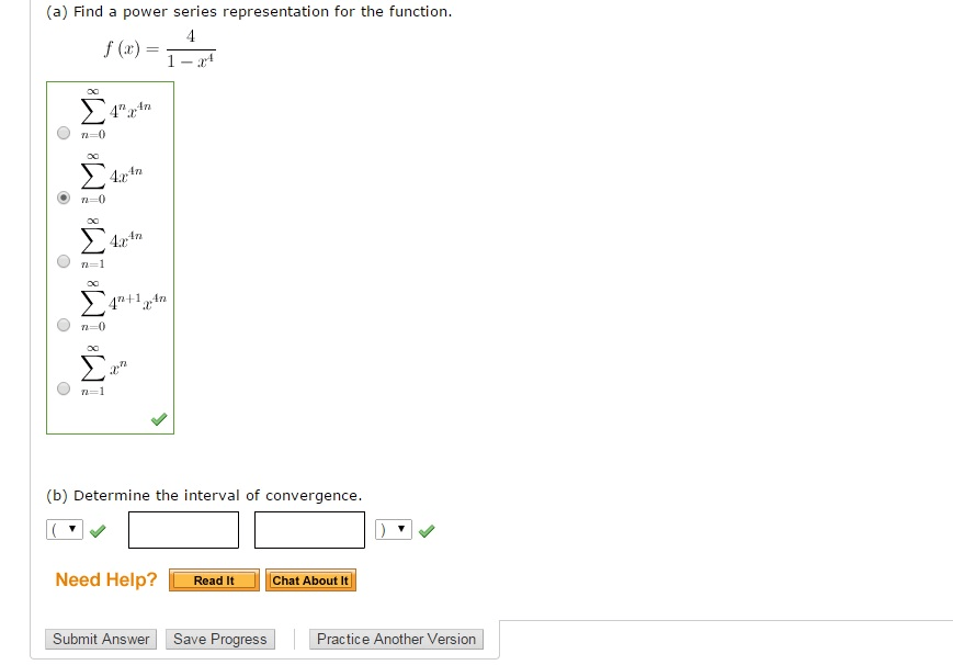 Solved: (a) Find A Power Series Representation For The Fun