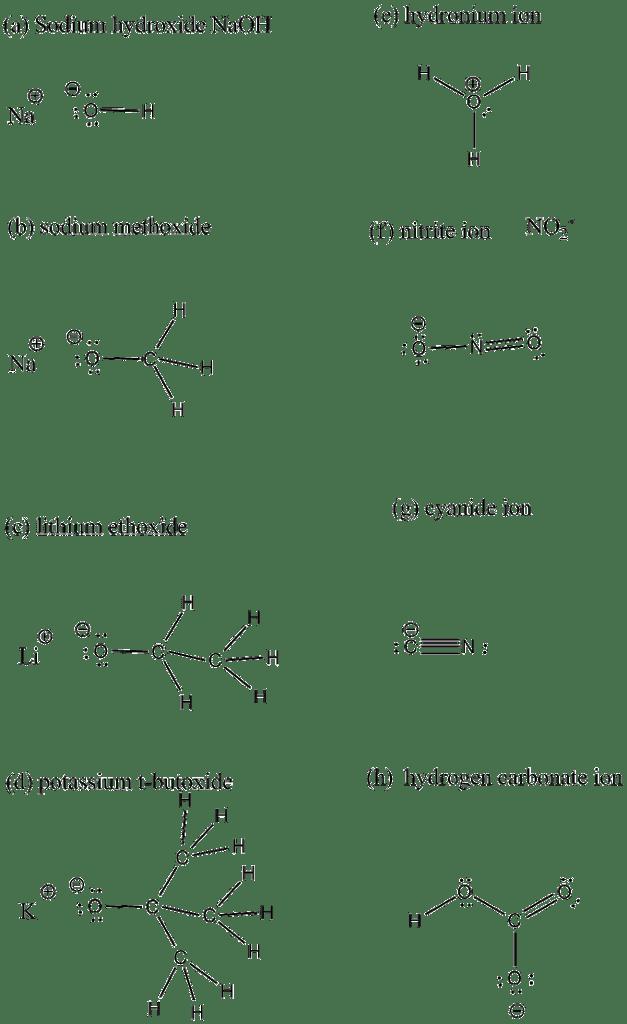 Hydronium Lewis Structure : hydronium, lewis, structure, Lewis, Structure, Species, Including, Pairs, Formal, Charges., Sodium