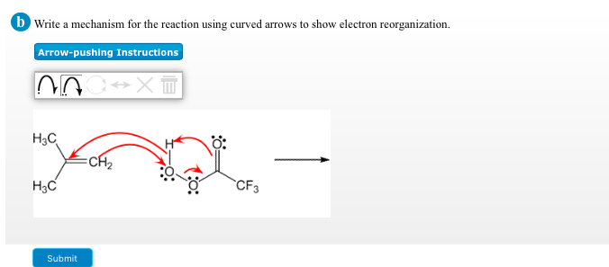Solved: Write A Mechanism For The Reaction Using Curved Ar