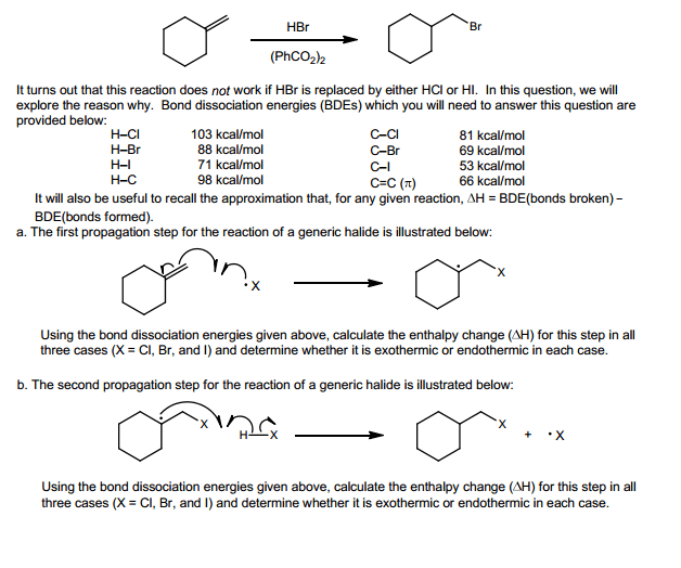 where are the intermediates and transition states in this diagram vav box wiring solved: treatment of alkene with hydrogen bromide p... | chegg.com
