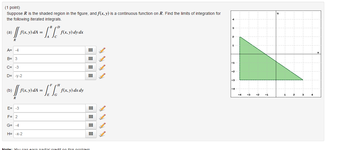 Solved: Suppose R Is The Shaded Region In The Figure, And