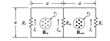 Solved: Two Infinitely Long Solenoids Thread A Circuit. Th