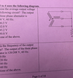 question determine the average output voltage of the following circuit the output of the three phase alte  [ 1024 x 768 Pixel ]