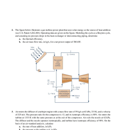 an ideal vapor compression refrigeration cycle is modified to include a counter flow heat exchanger as shown below ammonia leaves the evaporator as  [ 1240 x 1754 Pixel ]