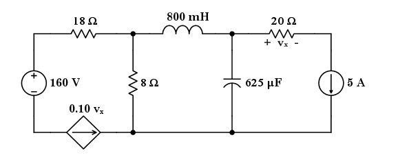 Solved: Given: The Circuit Shown Above Is In Equilibrium