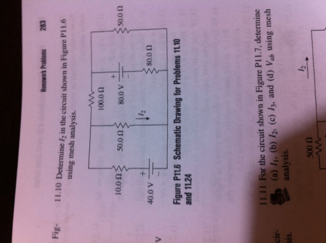 Determine The Potentialdifference Vab For The Circuit In The Figure