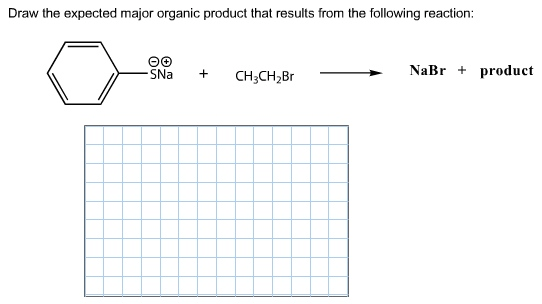 Solved: Draw The Expected Major Organic Product That Resul