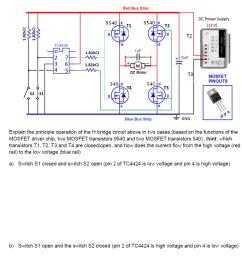 explain the principle operation of the h bridge ci [ 1038 x 1034 Pixel ]