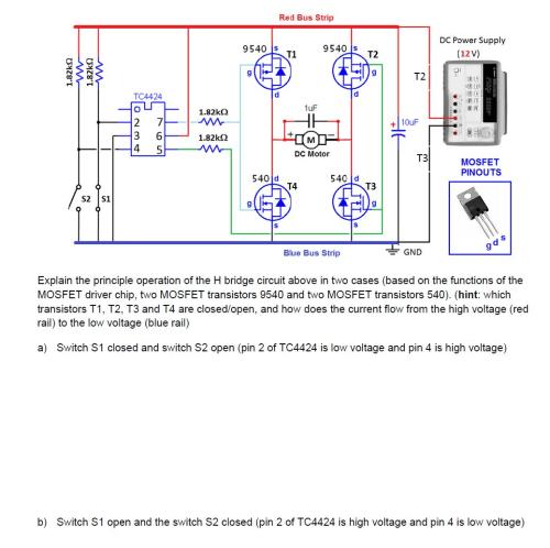 small resolution of explain the principle operation of the h bridge ci