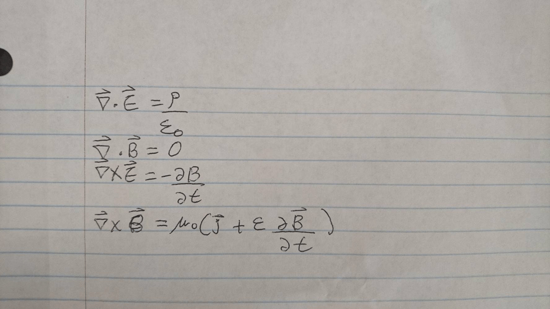 Solved Derive The Wave Equation For Magnetic Field B And