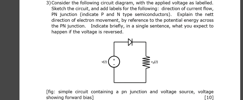 medium resolution of consider the following circuit diagram with the a