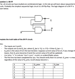 question 1 sr ff so far all circuits we have studied are combinatorial logic [ 1024 x 944 Pixel ]